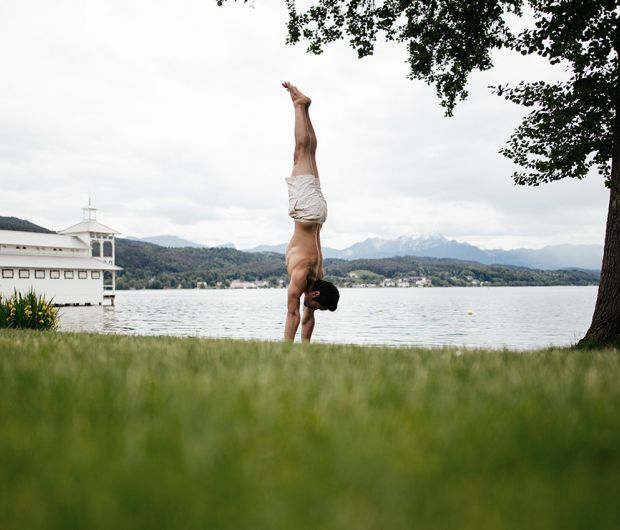 Yoga at Wörthersee